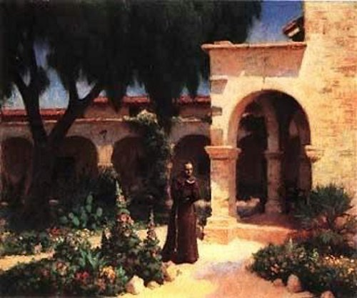 Padre Reading, Mission San Juan Capistrano