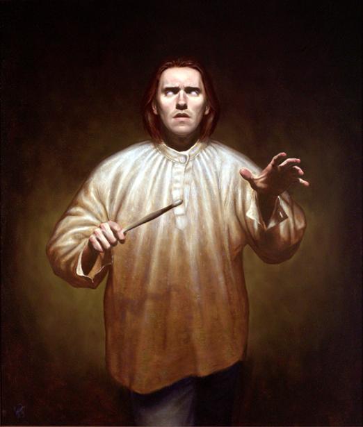 Portrait Of A Blind Painter