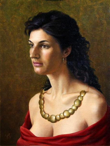 Portrait Of An Eastern Beauty
