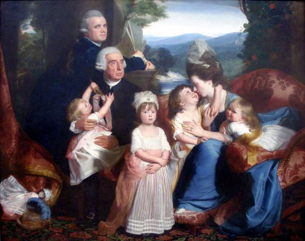 Portrait Of Copley Family