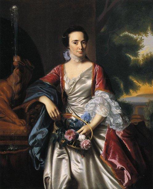 Rebecca Boylston (Mrs. Moses Gill)