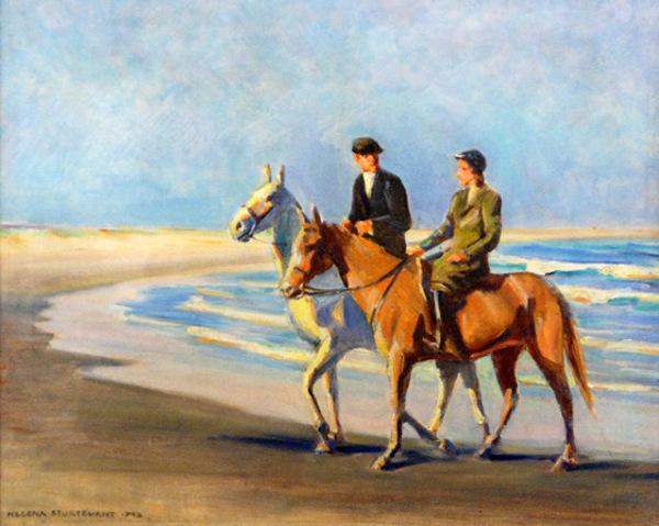 Riding Along The Shore