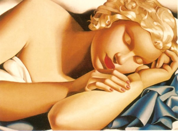 Sleeping Woman (Kizette)
