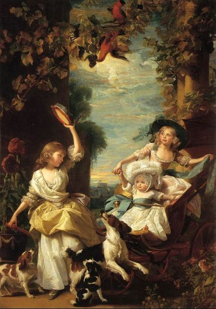 The Three Youngest Daughters Of George III, Princesses Mary, Sophia And Amelia