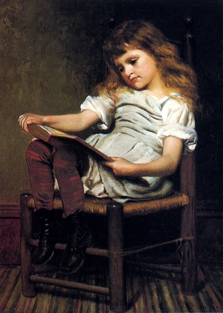 A Leisure Hour - First Reader