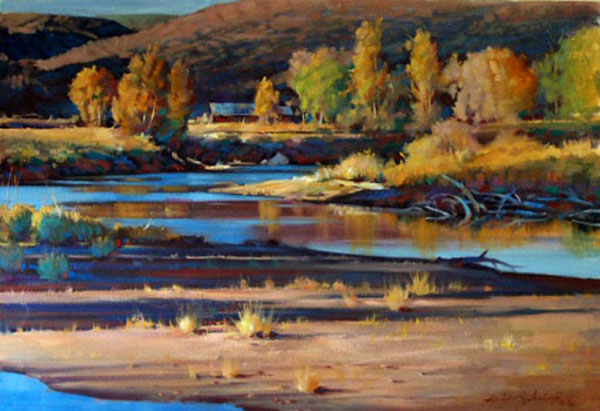 Autumn Morning On The Yampa
