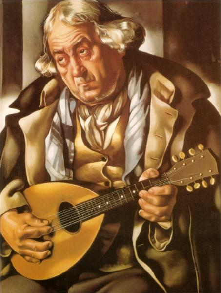 Beggar With Mandolin
