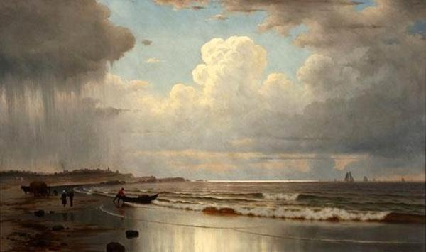 Maine Coastal Scene