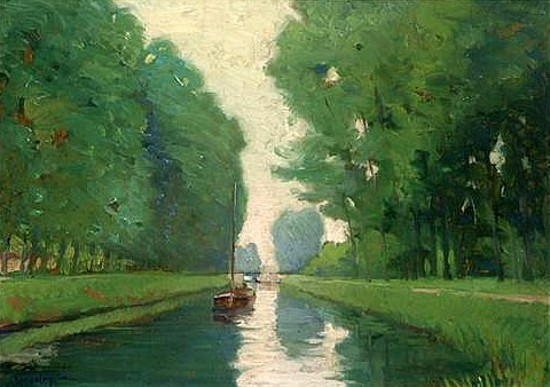 Midsummer Along The Canal
