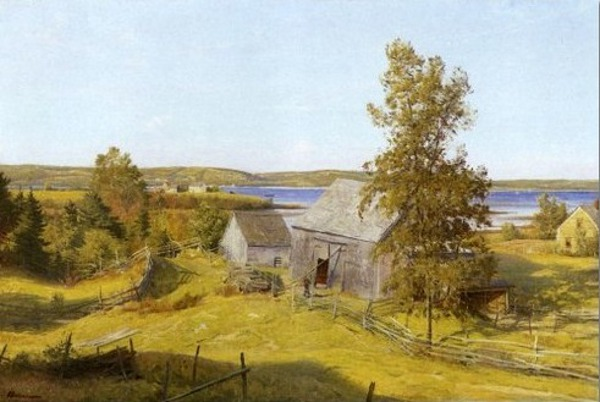 Old Barns, Mahone Bay, Nova Scotia