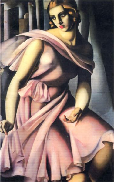 Portrait Of Romana de La Salle