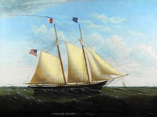 The Schooner William Mason, Capt. A. T. Staples