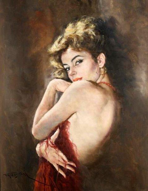 Vibrant Lady