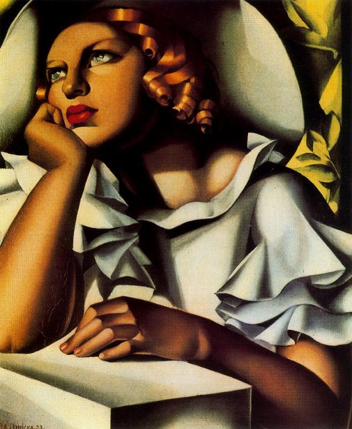 tamara de lempicka 1898 1980 american gallery. Black Bedroom Furniture Sets. Home Design Ideas