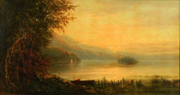 Along The Shore In Autumn