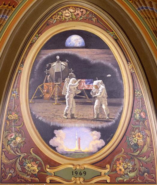America's First Moon Landing, 1969