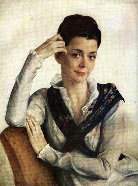 Anne Stepanovny Sorina-Shervashize, The Artist's Wife