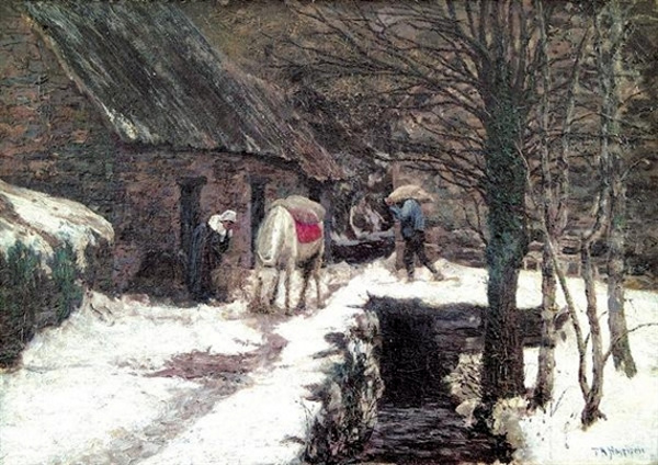 Aston Mill, Winter