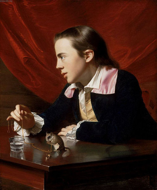 Boy With A Squirrel - Henry Pelham