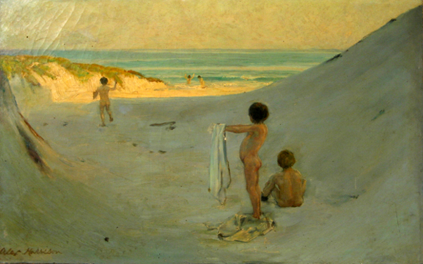 Boys At The Beach