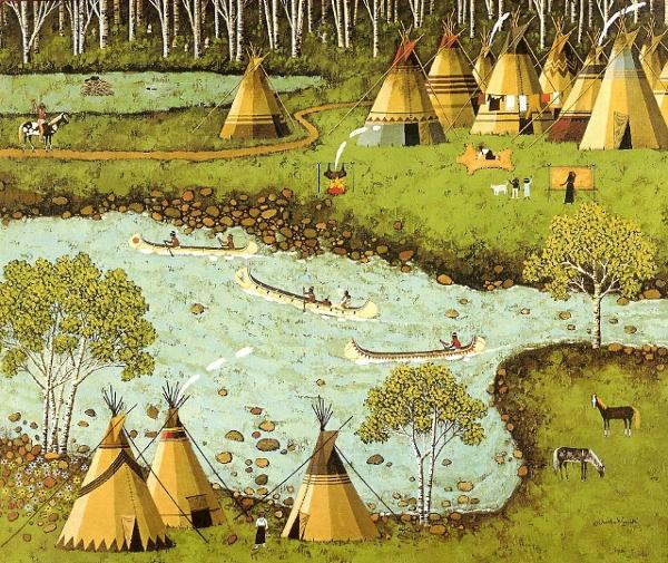 Canoe Racers