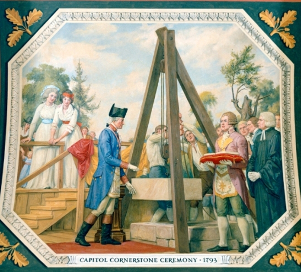Capitol Cornerstone Ceremony, 1793