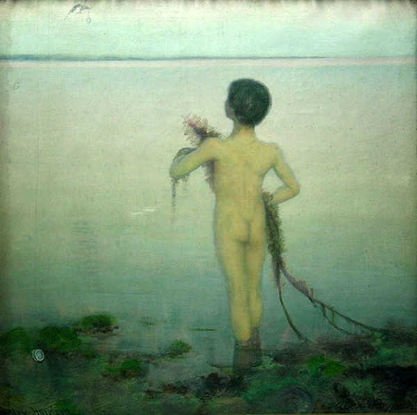 Child At The Seashore