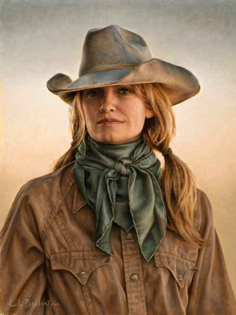 Cowgirl From Kinnear, Wyoming