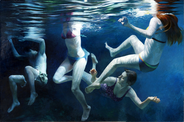 Four Swimmers