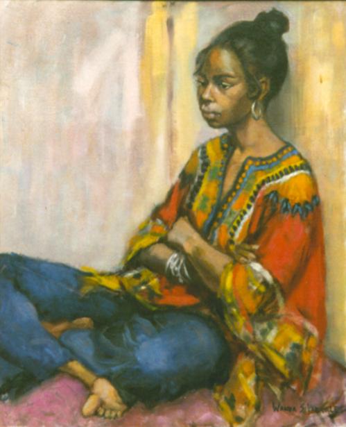 Girl in Corner