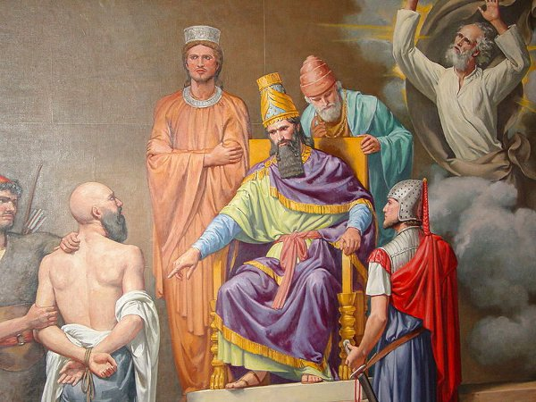 Mural in the Cryptic Room of the George Washington Masonic National Memorial