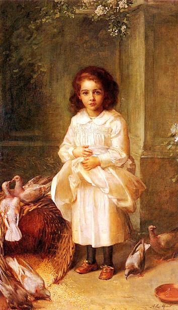 Miss Ethel D'Arcy Aged 6