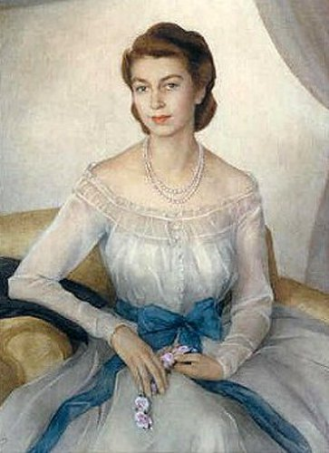 Princess Elizabeth, later Queen Elizabeth
