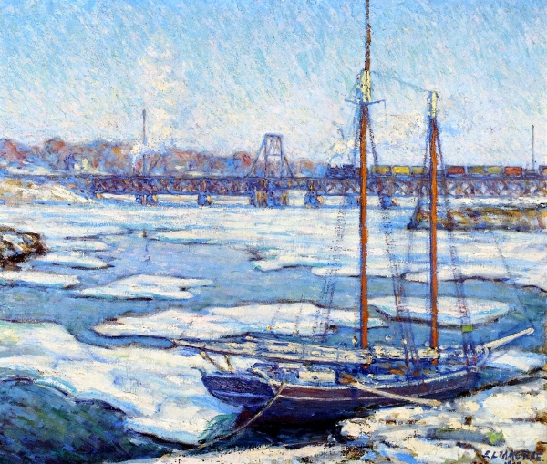 Schooner In The Ice