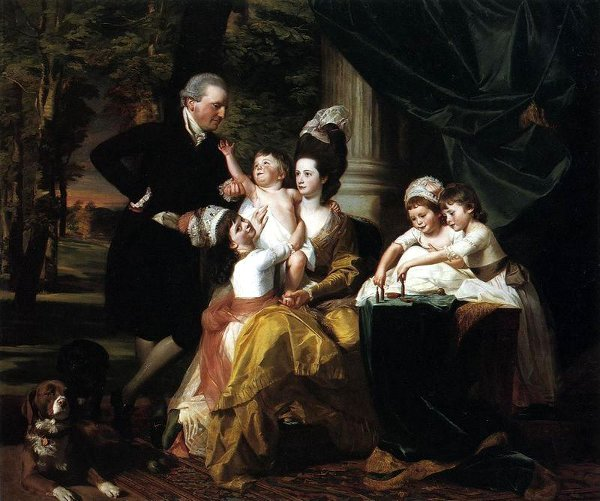 Sir William Pepperell And Family