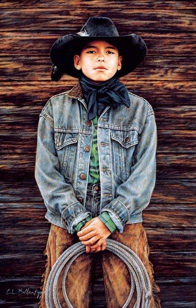 Steven Yellowtail - Crow Cowboy