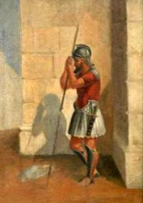Study Of A Roman Soldier