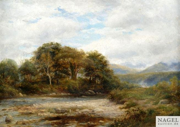 Summery River Landscapes