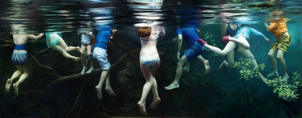Ten Swimmers