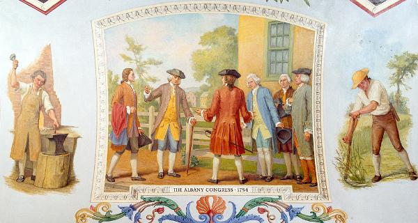 The Albany Congress, 1754