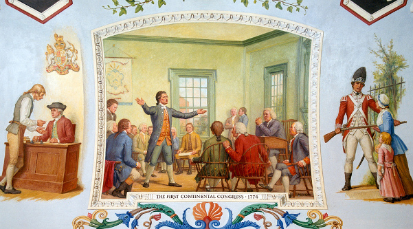 The First Continental Congress, 1774