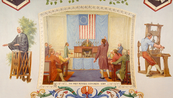 The First Federal Congress, 1789
