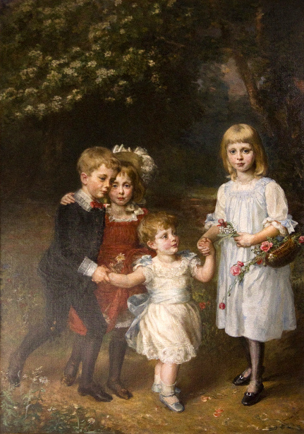 The Four Children Of Thomas Agar-Robartes