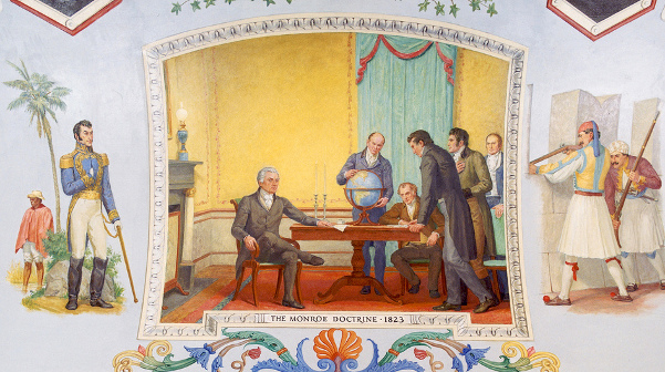 The Monroe Doctrine, 1823