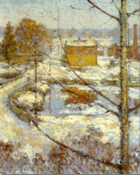 View From Bush-Holley House, Winter