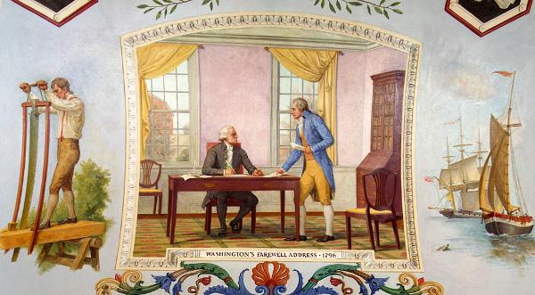 Washington's Farewell Address, 1796