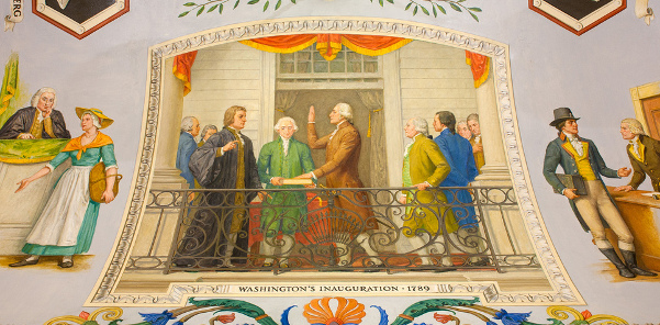 Washington's Inauguration, 1789