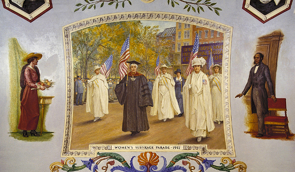 Women's Suffrage Parade, 1917
