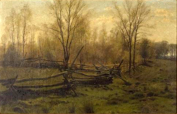Autumn Woods And Pasture