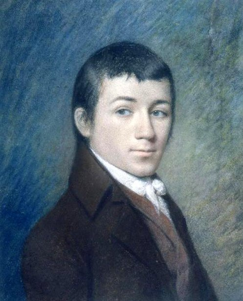 Charles Brockden Brown (after James Sharples)